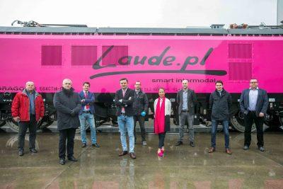 różowa lokomotywa z sądeckiego Newagu