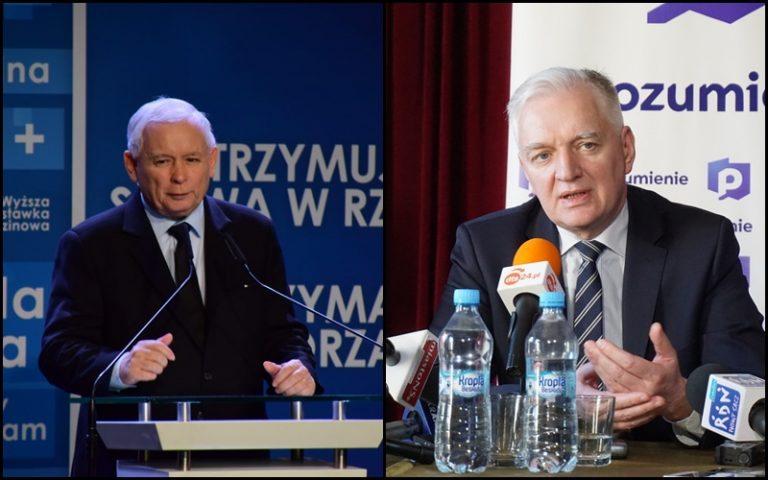 Nie będzie wyborów 10 maja. Jarosław Kaczyński i Jarosław Gowin wystosowali wspólne oświadczenie