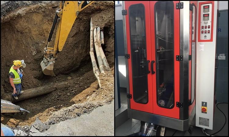 """Nowy Sącz: po raz pierwszy przy awarii sieci wodociągowej użyto ,,paczkowarki"""""""