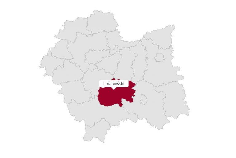 Powiat limanowski: jak głosowali mieszkańcy poszczególnych gmin