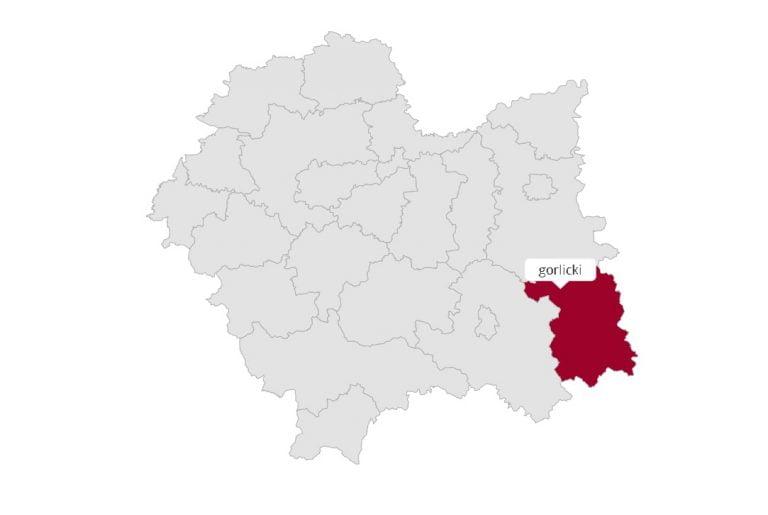 Powiat gorlicki: jak głosowano w poszczególnych gminach