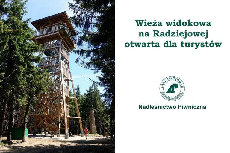 Radziejowa doczekała się nowej wieży widokowej