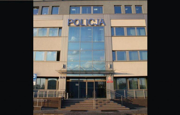 UWAGA! Dezynfekcja w komendzie policji. Będzie przerwa w przyjmowaniu petentów