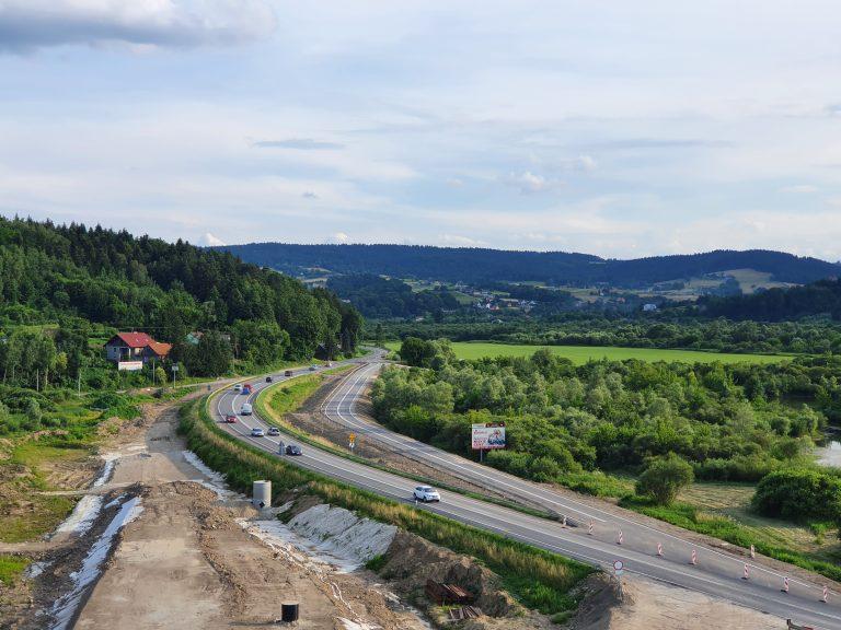 Uwaga kierowcy! Będzie zmiana organizacji ruchu na DK 75 przy moście w Kurowie
