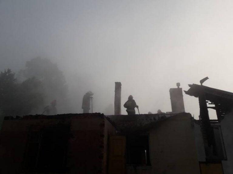 Złockie: spłonęło poddasze domu. To prawdopodobnie podpalenie