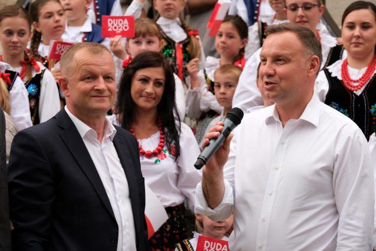 Andrzej Duda w gminie Korzenna: bardzo mi zależy, żeby wygrać te wybory [FILM, ZDJĘCIA]