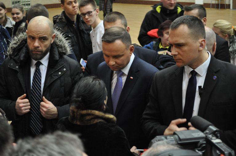 Prezydent Andrzej Duda odwiedzi nasz region przed wyborczą niedzielą