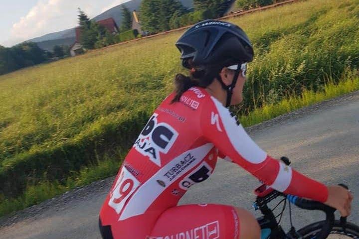 14-letnia Oliwia z kolejnymi kolarskimi sukcesami