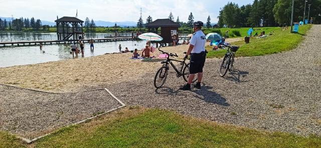 Sądecczyzna: Gdy dopisuje pogoda, na patrol wyjeżdżają policjanci na rowerach