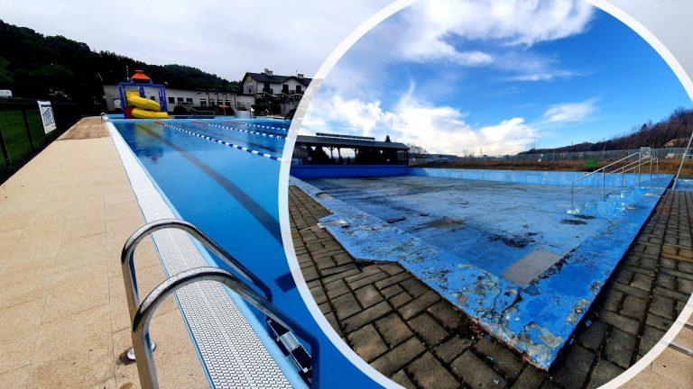 Znamy datę otwarcia basenu nad Łubinką. Zobacz zdjęcia przed i po remoncie