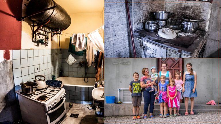 Trzetrzewina: kobieta z siedmiorgiem dzieci mieszka w bardzo trudnych warunkach. Potrzeba Waszej pomocy!