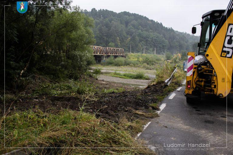 Nowy Sącz: Rusza budowa mostu tymczasowego w ciągu ulicy Kamiennej