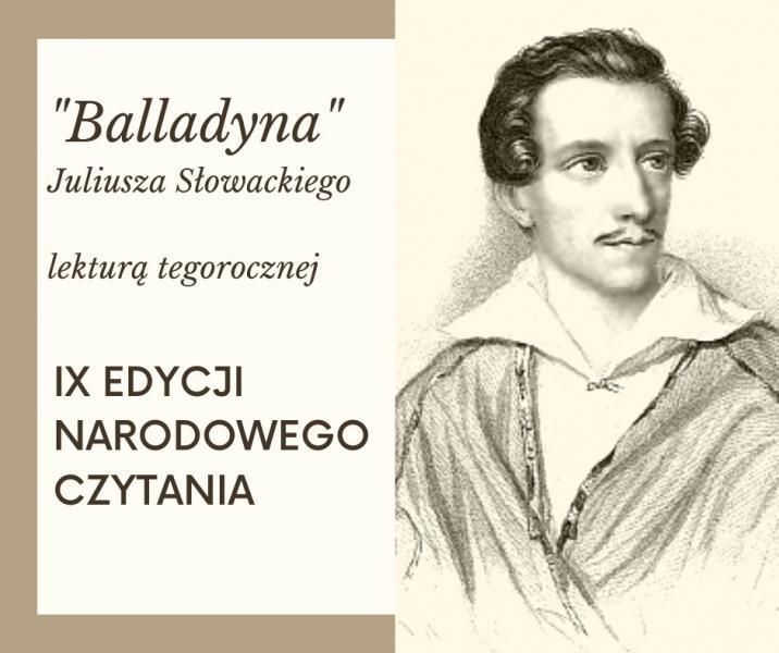 """Narodowe Czytanie """"Balladyny"""" jednak w Starym Sączu"""