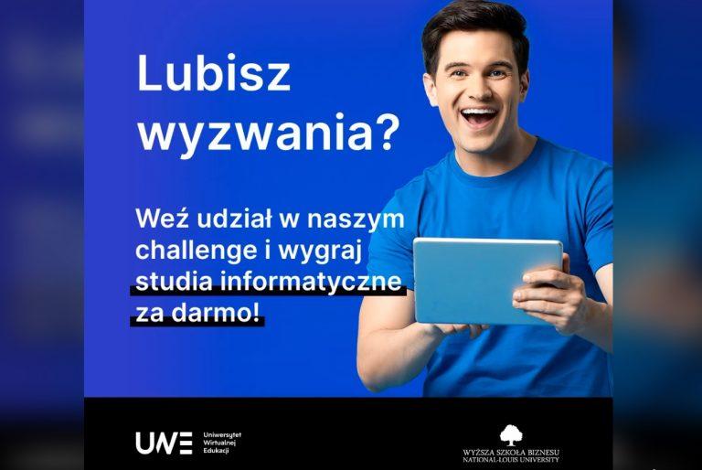 Podejmij wyzwanie i wygraj darmowe studia informatyczne w WSB-NLU