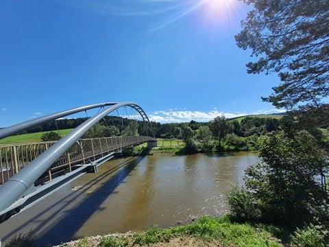 Milik, Andrzejówka: rowerowe mosty otwarte! Pociągi pełne rowerów!