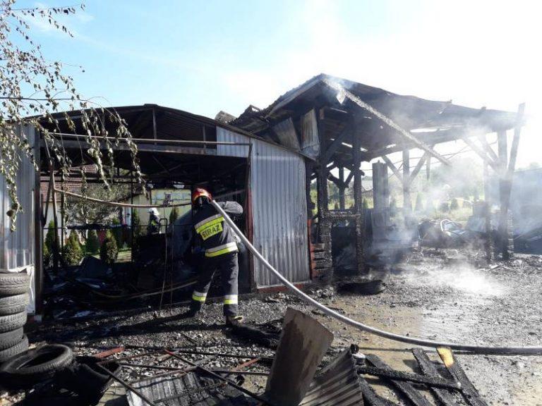 Ogień zabrał im źródło utrzymania. Mieszkańcy Nowego Sącza ruszyli z pomocą