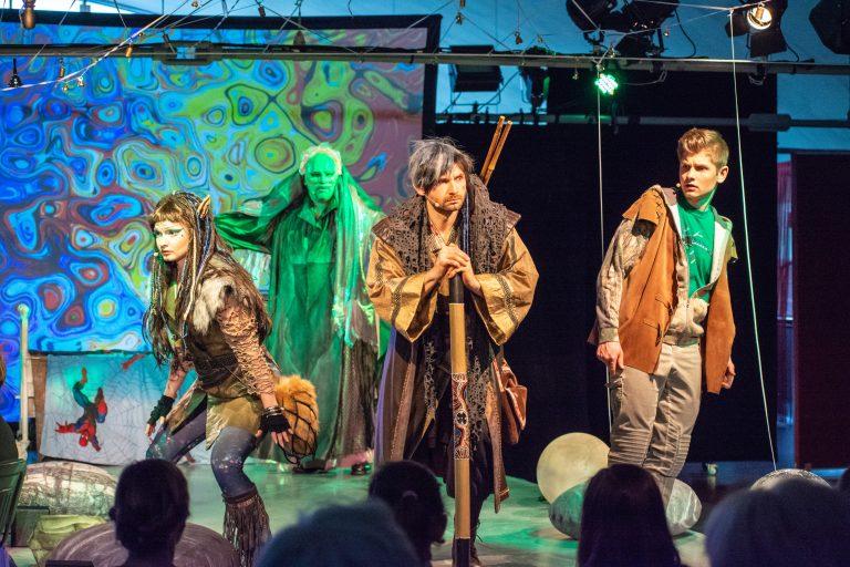 """""""Ongaku trzy kamienie""""- niezwykły spektakl w Sokole. Dla wszystkich! Również dla niewidomych i niesłyszących"""