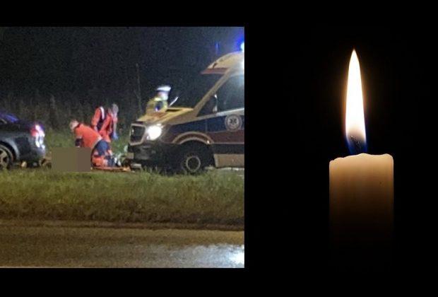 Tragiczny finał potrącenia pieszej. 73- letnia sądeczanka mimo reanimacji zmarła