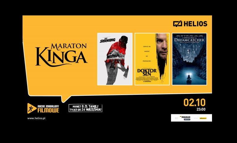 Maraton Kinga w kinie Helios. Mamy dla Was bilety!