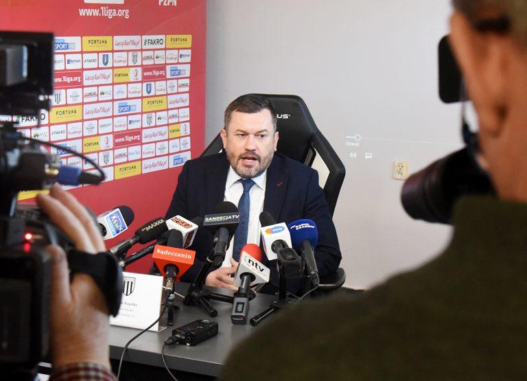 Artur Kapelko nie jest już prezesem Sandecji