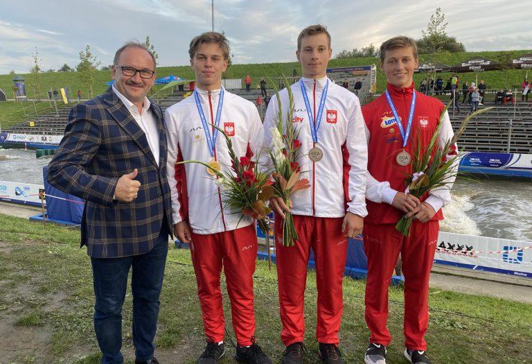 Mistrzostwa Europy. Jeden złoty medal i dwa brązowe.