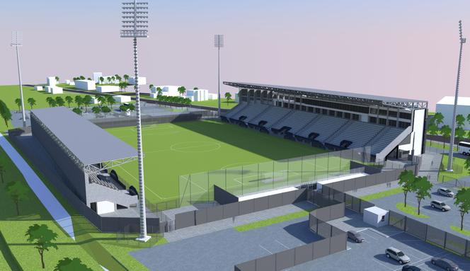 Tylko jedna oferta budowy stadionu Sandecji mieści się w limicie kosztów ustalonym przez miasto. Złożyła ją firma z Korzennej