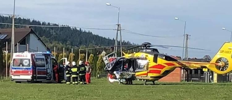 Florynka: Lotnicze Pogotowie Ratunkowe na pomoc mężczyźnie z udarem