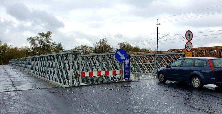 Koniec objazdów! Most tymczasowy na Kamienicy został otwarty