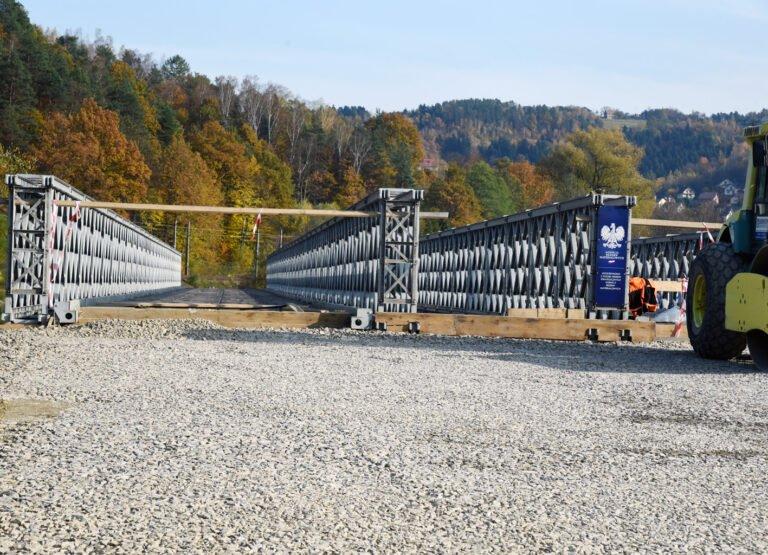 Nowy Sącz – Kamionka: most w Jamnicy gotowy, ale jeszcze nie przejezdny