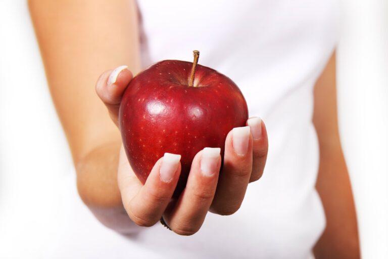 Jedno jabłko zamiast