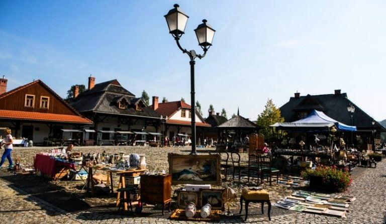 Nowy Sącz, 11 października: kiermasz staroci w Miasteczku Galicyjskim