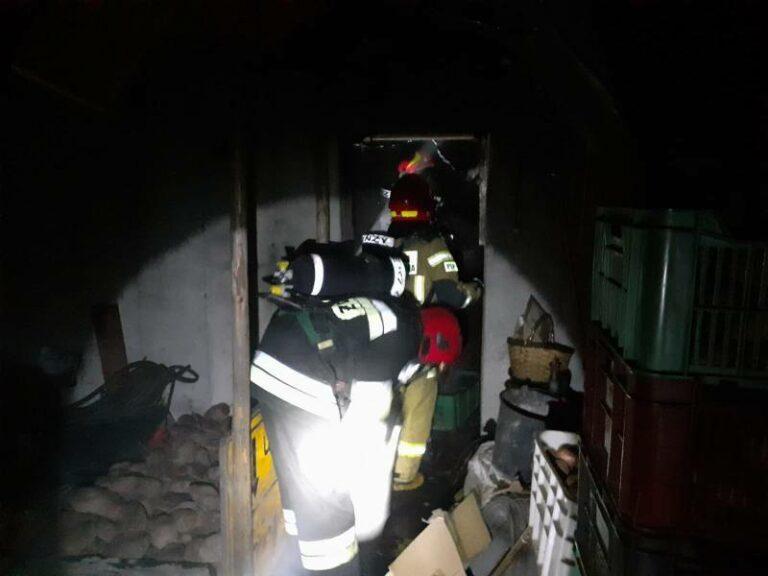 Chełmiec: w domowej kotłowni wybuchł pożar