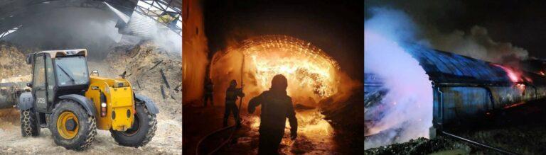 Nowy Sącz: płonął magazyn z materiałem opałowym