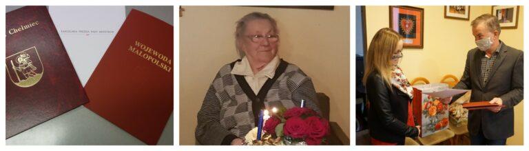 Paszyn: pani Genowefa skończyła 100 lat! Ma 29 prawnucząt i 2 praprawnucząt