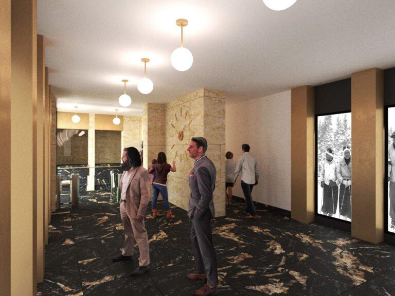 Krynica – Zdrój. Góra Parkowa wraca do stylu art deco. Będą szklane, otwierane ściany, restauracja i dancingi