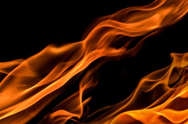 Z ostatniej chwili: palił się budynek gospodarczy w Janczowej