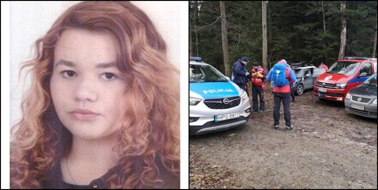 Florynka. Trwają poszukiwania 18-letniej Justyny. W akcji strażacy, ratownicy i policjanci