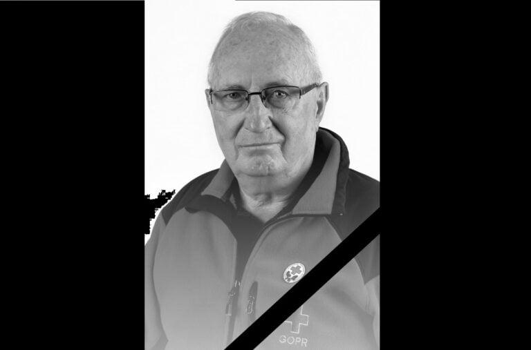 Odszedł Antoni Żarski, wieloletni ratownik ochotnik Grupy Krynickiej GOPR