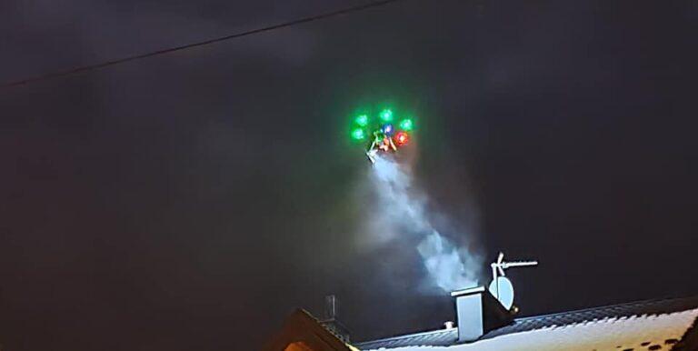 Muszyna. Dron sprawdzał dym z kominów. Akcja będzie powtarzana – zapowiada burmistrz