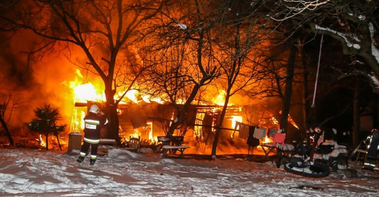 Siedliska. Kolejny pożar z tragicznym finałem. Stracili cały dorobek życia i babcię