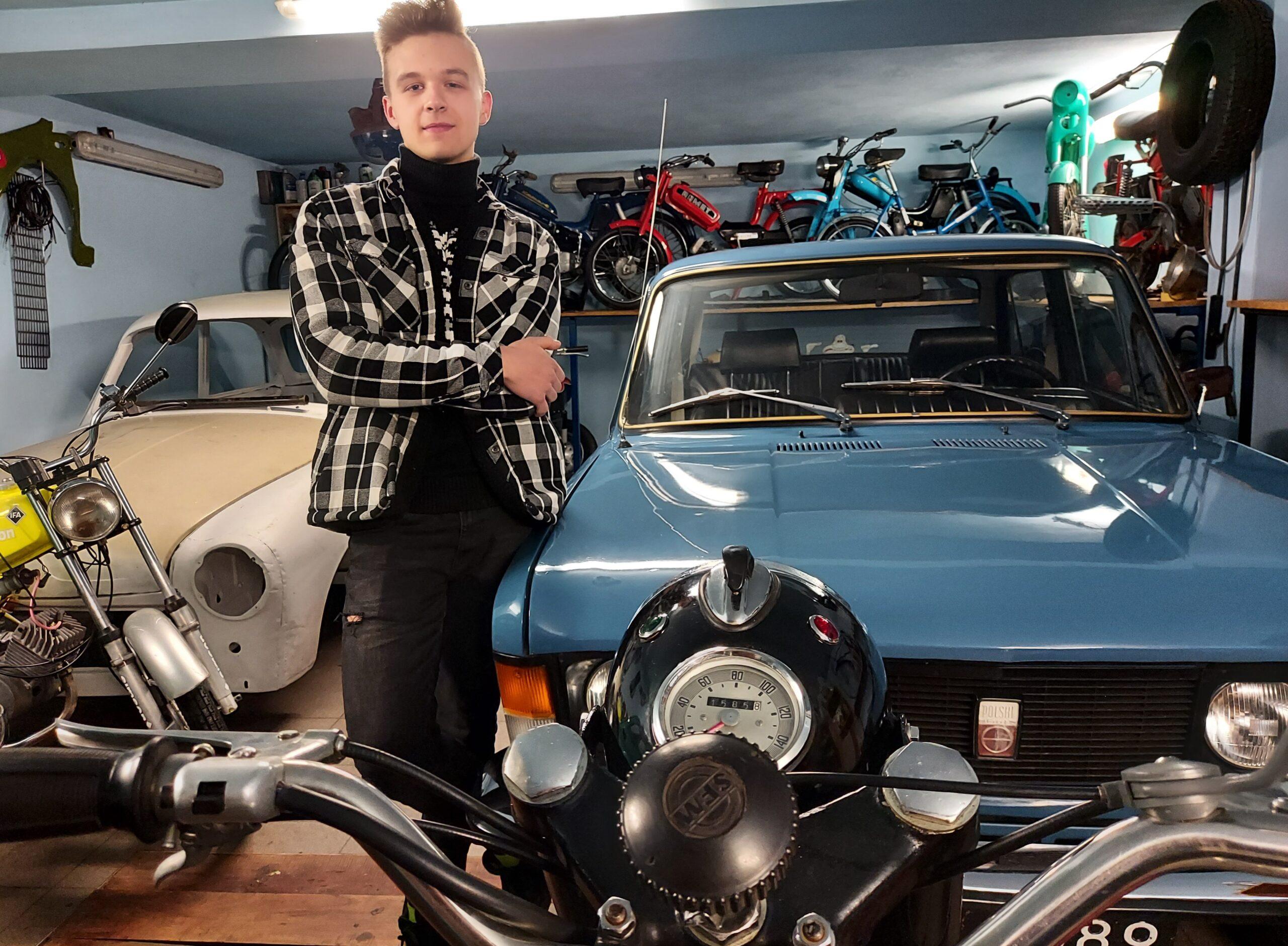 Motocyklowa choinka Bartka