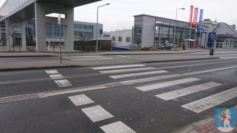 Gmina Chełmiec. Cztery przejścia na drogach krajowych zostały lepiej oświetlone