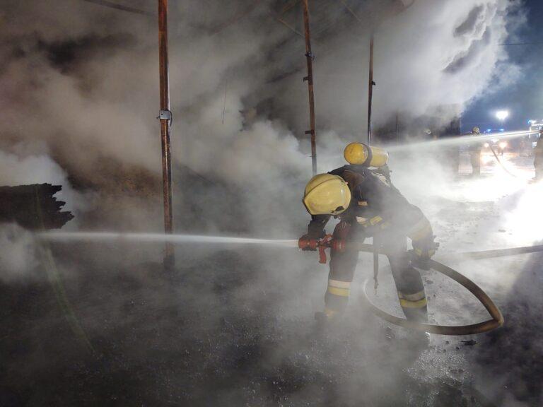 Ogień zniszczył zakład pracy pana Czesława. Ruszyła zbiórka na pomoc w naprawie szkód