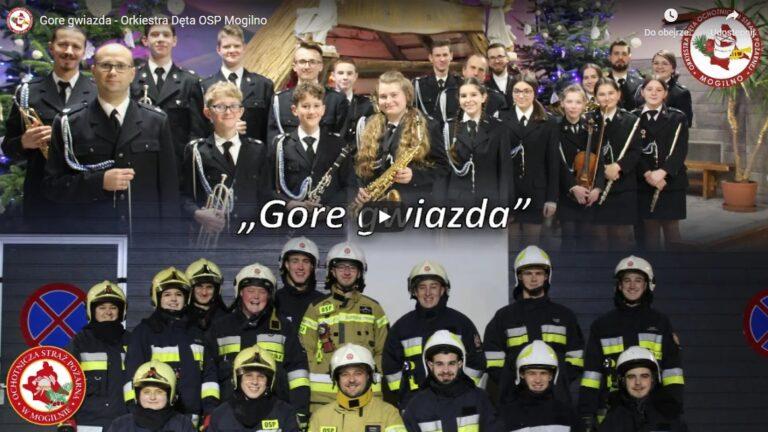 Strażacy z Mogilna nagrali noworoczny teledysk