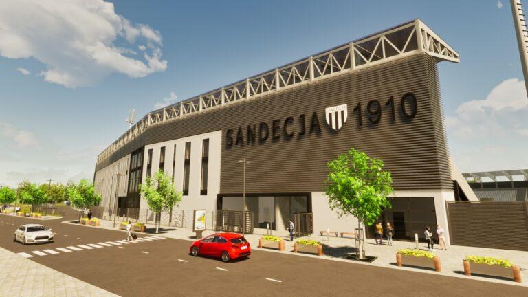 Firma Grand z Korzennej wykluczona z postępowania przetargowego na budowę stadionu Sandecji. To decyzja KIO