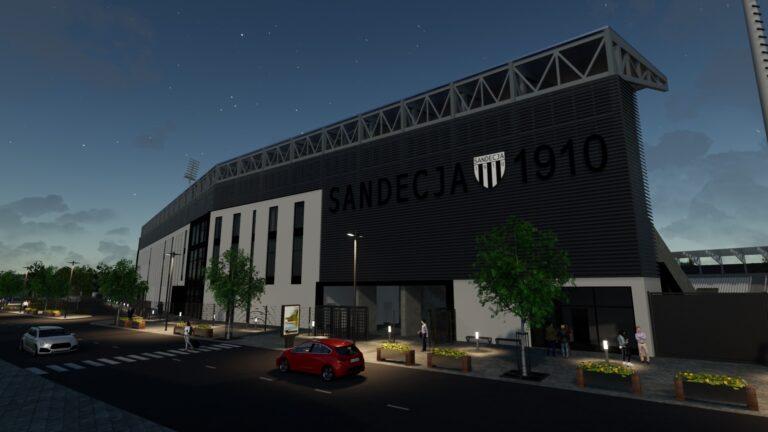 Wiemy, dlaczego Grand nie wybuduje stadionu Sandecji