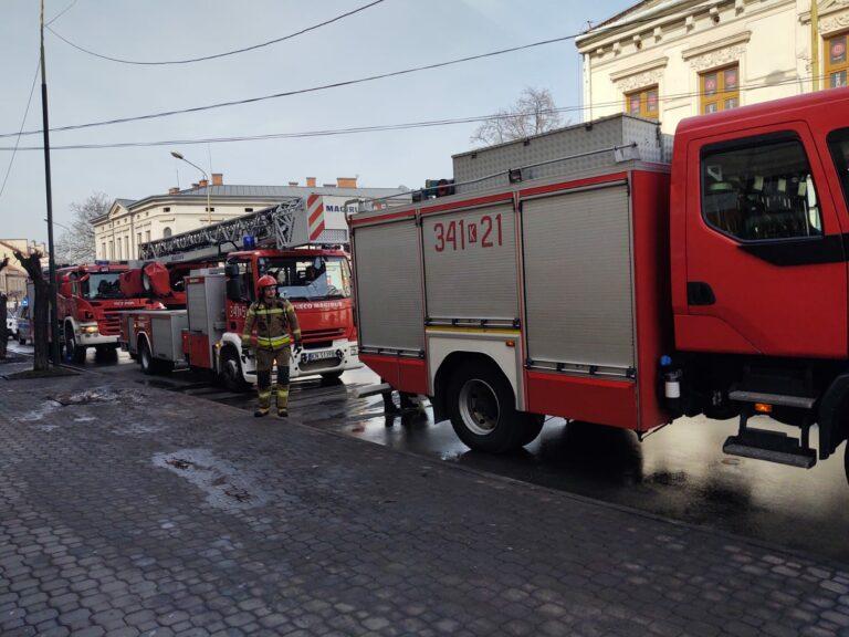 Nowy Sącz. Pożar w kamienicy przy ul Długosza. 22 mieszkańców ewakuowało się