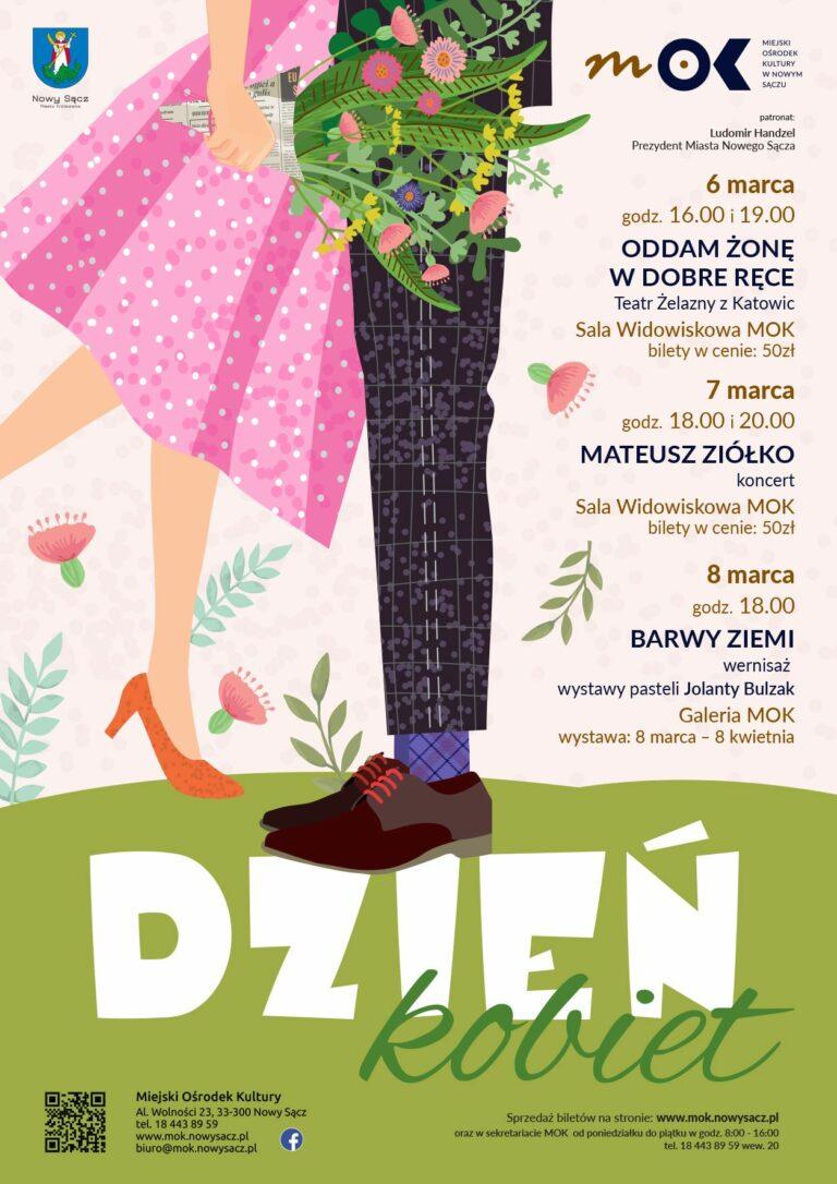 Nowy Sącz 6,7,8 marca: koncert, spektakl i wernisaż na Dzień Kobiet