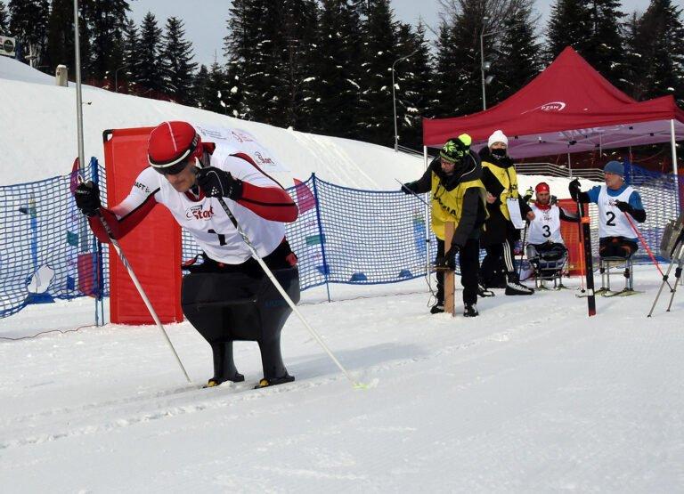 Nogi wcale nie są potrzebne, żeby uprawiać narciarstwo… Emocjonujący Puchar Europy w Ptaszkowej