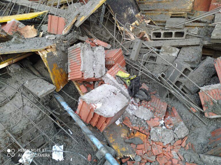 Zmarł jeden z robotników rannych w katastrofie budowlanej